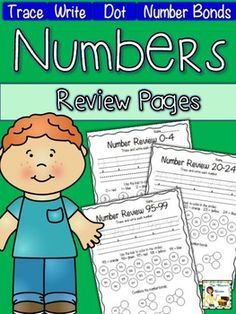 Your little ones will love practicing numbers with these fun, no prep, worksheets! These are great to use in a math center for students who already have some knowledge about numbers 0-99.  Trace-Write-Find & color with dot markers-Color on a ten frame (#s 0-9)-Decompose using a number bond (#s 10-99) $