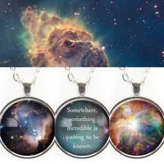 Nebulae & planets. Somewhere, something incredible is waiting to be known.