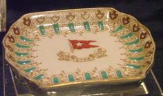 Titanic -- First-Class Dining Dish Recovered