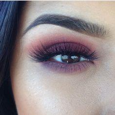 Warm eyeshadow || bold makeup look