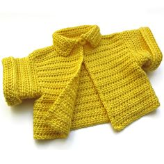 Baby Swing Style Cardigan in Lemonade by etsy seller BarkingDogDesigns. again I want this for myself!