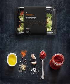 WALLS Fresh eats on the go. A new business catering brand. The presentation was mocked up in photoshop by me, the photoshoot was dane by (Pinkyone) and were bought off shutterstock http://www.shutterstock.com/gallery-1152482p1.html?searchterm=food+black …