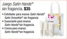 Fragrance Free Satin Hands - SP
