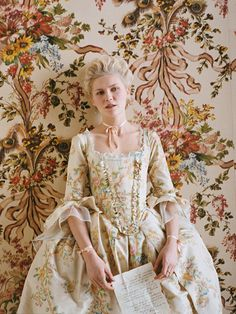 "Kirsten Dunst in ""Teen Queen: The Style of Marie Antoinette"" by Anne Leibovitz for Vogue US September 2006"