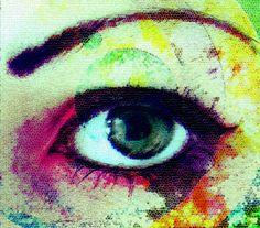 Eye by lamblyn on DeviantArt Watercolor Eyes, Eye Art, Faeries, Online Art Gallery, Artsy Fartsy, Color Splash, Angels, Art Pieces, Happiness