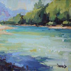 Cathleen Rehfeld • A Series of River Paintings
