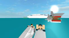Robloxian Cruise! VIP ADDED! NEW SHARKS! - ROBLOX