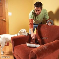 These tips for pet owners offer practical solutions for everything from cleaning up fur to keeping pets off the furniture.