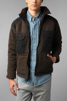 Urban Renewal Vintage Arny Bear Jacket. 64.00.