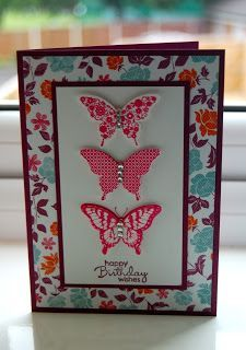 Julie's Japes - A Top Independent Stampin' Up! Demonstrator in the UK: Butterflies for Beginners!
