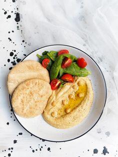 Cizrnový hummus Hummus, Falafel, Tahini, Pancakes, Breakfast, Food, Morning Coffee, Essen, Pancake