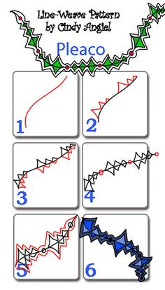 Pleaco Pattern Worksheet by Paint Chip, via Flickrhttp://www.flickr.com/photos/paintchip_61/8236200575/