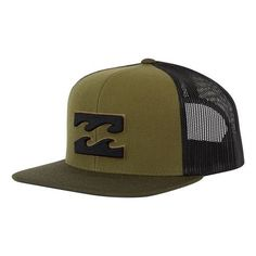 Billabong All Day Trucker Hat - Canteen Green Gorras 6c17c836118