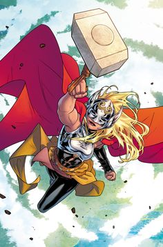 The Mighty Thor #1 by Russell Dauterman and colorist Matt Wilson.