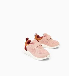 FAUX FUR SNEAKERS-SHOES-BABY GIRL | 3 months - 4 years-KIDS | ZARA United States