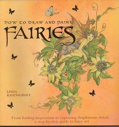 How to Draw and Paint Fairies  - CraftySupplyAddict