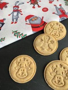 Gf Recipes, Gluten Free Recipes, Sweet Recipes, Cookie Recipes, Stamp Cookies Recipe, Cake Cookies, Christmas Cookies, Crossfit Diet, Winter Food