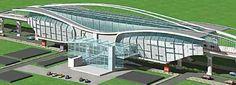 Preliminary Concept of Trinity Circle Metro Station, Bengalore, India