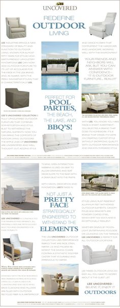 Lee Industries Outdoor Furniture @ Gallatin Valley Furniture Carpet One, Bozeman, MT