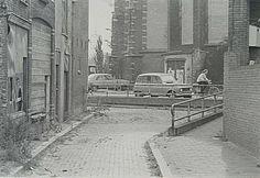 552_302041 Gezicht uit de Riedijkstraat over de Torenstraat op de Nieuwkerk - Regionaal Archief Dordrecht