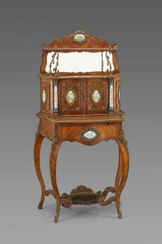 Writing desk -       Bonheur du jour.      French, about 1850.