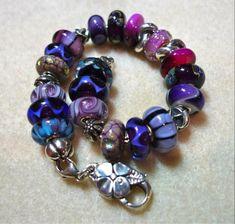 Passionately purple Trollbeads!