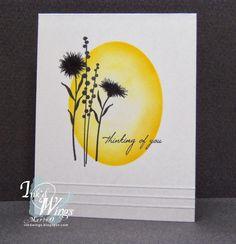 peaceful wildflowers, MFT, Ink'd Wings: