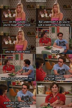 love that's 70s show. I'm pretty sure I can blame Hyde for how I am...