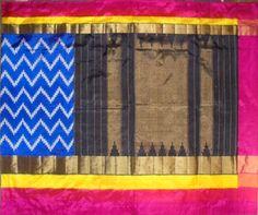 Pochampally Silk Saree - POC00172