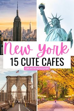 New York Travel Guide, New York City Travel, Travel Tips, Nyc Coffee, Coffee Shops, Hawaii Travel, Usa Travel, New York City Attractions, Nyc Itinerary