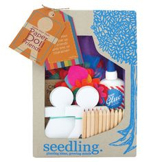 Make Your Own Paper Doll Friends by Seedling.com