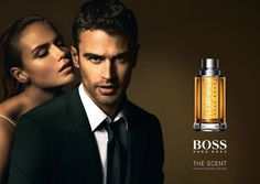 MASTERPOST: Theo James for Hugo Boss
