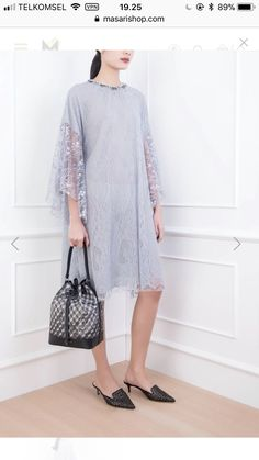 New Dress Brokat Indonesia Beautiful Life Ideas Kebaya Lace, Kebaya Dress, Dress Pesta, Trendy Dresses, Modest Dresses, Simple Dresses, Casual Dresses, Dress Brukat, Blouse Dress