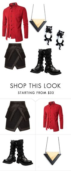 """""""Shinigami - Date night"""" by wishbone454 on Polyvore featuring Balmain"""