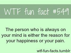 I have two people like this, or maybe one you see it's the same person. Except I know her as two people now the one who used to make me happy, but now is what my mind goes back to when I'm in pain, when I here a song sometimes it reminds me of us as frien back pain funny