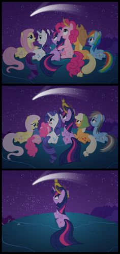 The Times We Share by Tim015.deviantart.com on @deviantART. NO. WHY? I really, really hope Twilight isn't actually immortal.