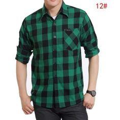 camisas xadrez masculina verde e preta