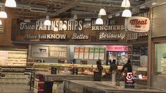 whole foods market decor+illustrations - Google Search