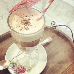 Ice Coffee ❄️❄️❄️ with almond milk & vanilla icecream #lactofree #organic  #soyfree #glutenfree #paleo #rawvegan
