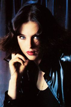 Isabelle Adjani for Vogue, 1975. Photo by Henry Clarke