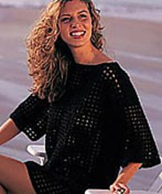 Free beach cover up crochet patterns beach covers free crochet easy peasy crochet beach cover up dt1010fo