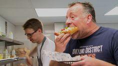 Cuisinier Ron Blaauw over zijn hot dog zaak Fat Dog in Amsterdam