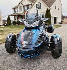 {Take a look Great Prices on these Can-Am Spyder Tire Pressure Monitoring Systems Can Am Spyder, Tire Pressure Monitoring System, Cool Bikes, Airbrush, Scooters, Custom Cars, Dark Side, Motorcycles, Wheels