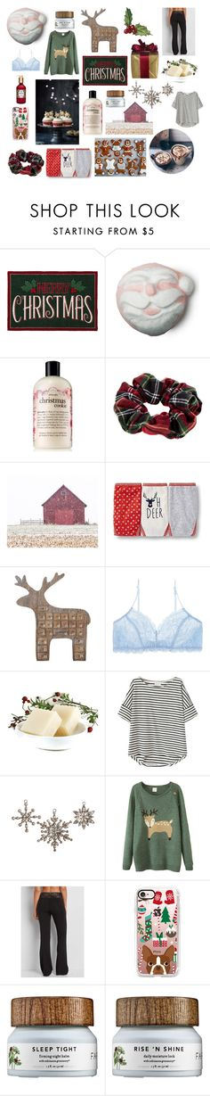 """Cozy Christmas"" by megancvms ❤ liked on Polyvore featuring St. Nicholas Square, philosophy, River Island, Cultural Intrigue, maurices and Casetify"