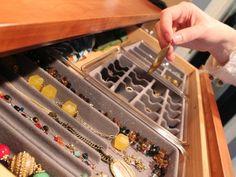 Jewelry Drawer Organizer Trays - Stackable Trays by Neatnix
