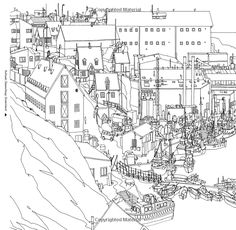 Fantastic Cities A Coloring Book Of Amazing Places Real And Imagined Steve McDonald