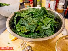 Mexican kale chips recipe