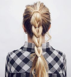Here is a little hair tutorial I made for you guys! I love this hairstyle & it looks impossible but it's actually super simple! xoxo Luxy Hair Extensions use this coupon code to get $10 o…