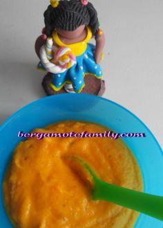 Purée de riz à l'artichaut , carottes et basilic - Bergamote F
