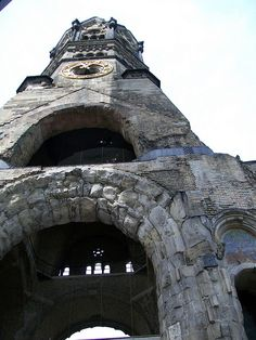 cathedral bombed in WWII Berlin